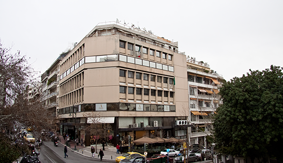 Eurocorp offices in Athens